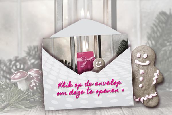 Klik op de envelop om deze te openen >