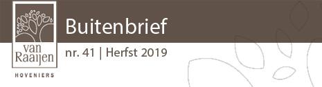 Buitenbrief nr. 41 | Herfst 2019